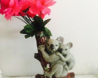 Large Vintage Koala Decanter/vase