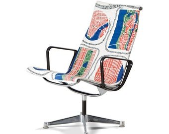 Charles & Ray Eames, aluminim group, Model EA 116 Chair