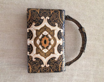 Tooled Italian Vintage purse with handle