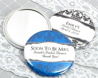 Wedding Favor Mirrors, Personalized Mirror Favors - Set of 24