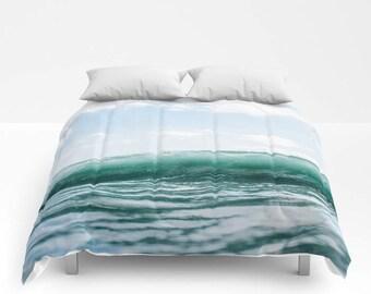 Bohemian Bedding, Bohemian Comforter, Boho Comforter, Ocean Bedding, Ocean Comforter, Beach Bedding, Bed Cover, Bed Comforter