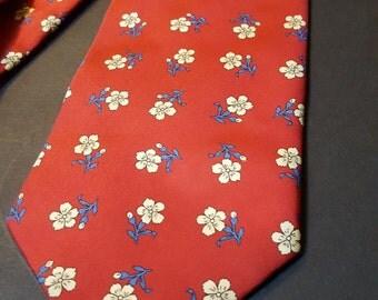 Vintage 1980s Italian Silk Tie