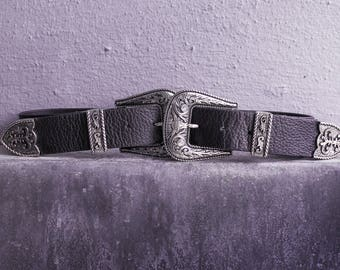Double Buckle Belt --ONLY SMALL--