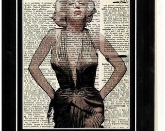 269 Marilyn Monroe Vintage  Art Print
