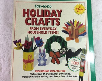 Easy to Do Holiday Crafts From Everyday Household Items / Halloween / Thanksgiving / Christmas / Valentine's Day / Easter / everyday crafts