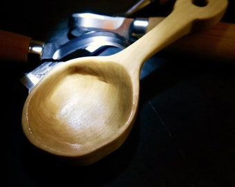 Hand-carved Basswood Coffee Scoop
