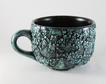 Steampunk Inspired Soup Mug