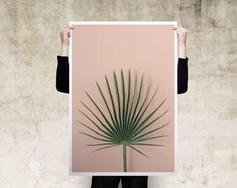 Exotic Leaf Large Print Poster