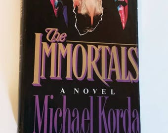 The Immortals by Michael Korda   Hardcover  Historical Fiction