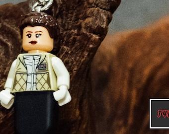 Princess Leia Lego keychain USB stick (SanDisk)