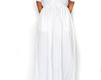 100% cotton Maxi Dress