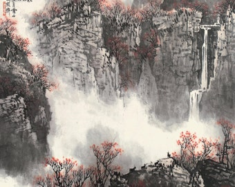 Chinese traditional landscape painting BXS65