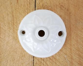 Vintage porcelain ceiling fixture