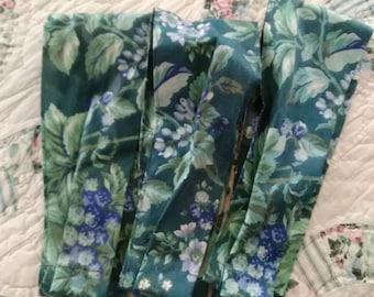 On Sale! Laura Ashley, Bramble, Pleated, Tiebacks, Cottage Chic, Victorian
