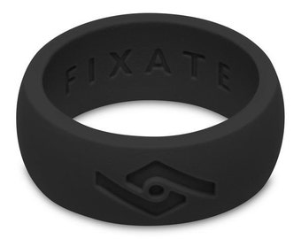 Fixate Designs Men's Custom Engraved Silicone Ring