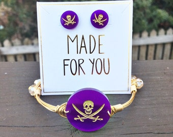 ECU; Pirate; Bangle and Earring Set