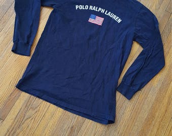 Polo Ralph Lauren long sleeved t-shirt  women's  SIZE X-LARGE