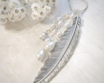 Angel Wing Swarovski Necklace Gift Jewelry Bridesmaid Friendship Necklace