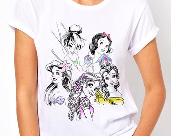 Disney Princess Ladies T Shirt
