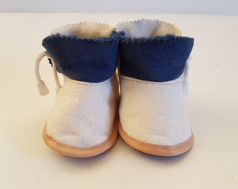 woolen shoes; baby shoes with leather; warm baby shoes;  present for baby; toddler shoes