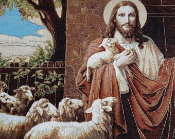 religious home decor | religious wall art | Christian wall art | wall  tapestry