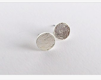 Earrings SILVER circle, circle, filigree earrings in silver, round Earring silver