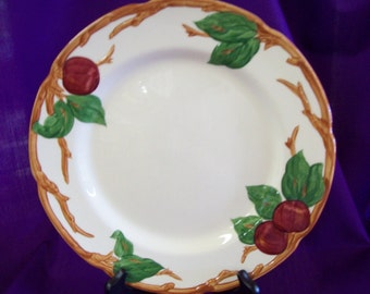 Vintage Franciscan Pottery of California Apple Dinner Plate