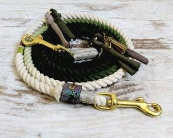 Dog leash ombre * Holi * Green Romance