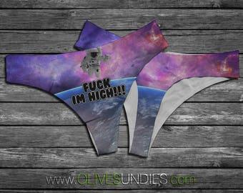 Fuck I'm High Spaceman Underwear