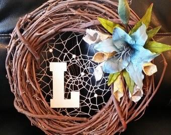 Webbed Grapevine Wreath