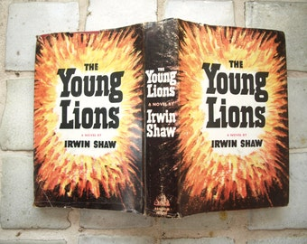 The Young Lions By Irwin Shaw Hardcover 1948 1st Edition 7th Printing DJ