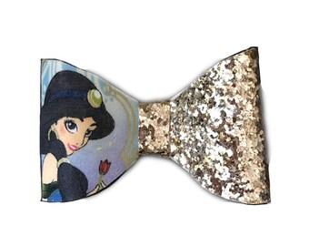 Jasmin Glitter Bow