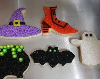 Halloween Cookies - sold by the dozen