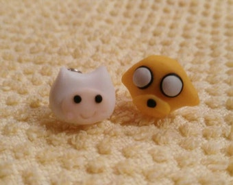 Finn & Jack, Adventure time Earrings