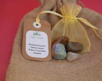 Personal Power Pack - Crystal Healing