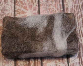 Felted Soap, Handmade Soap, 100% wool