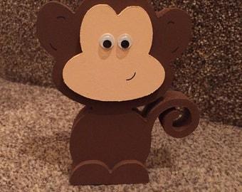 Jungle Animals Nursery Set / Zoo Animal Set / Wooden Animals