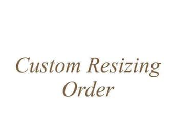 Custom Resizing Order