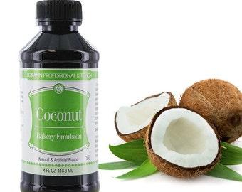 LorAnn Coconut Emulsion 4oz