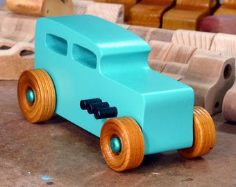 Wood Toy Cars, Wooden Cars, Wood Toys, Wooden Car, Wood Toy Car, 1932 Ford, Hot Rod, 32 Sedan, Street Rod, Speedster, Dragster, Race Car
