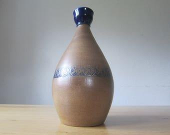 "Modern 70s stoneware vase ""Solifleurvase"""