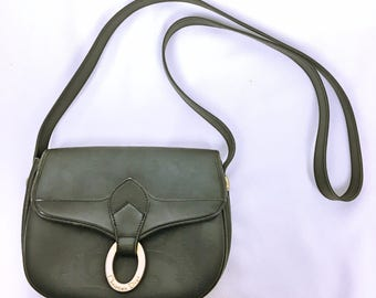 Christian Dior 70's-80's vintage CD LOGO Shoulder bag