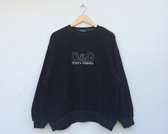 Vintage Dolce & Gabbana Embroidery Sweatshirt