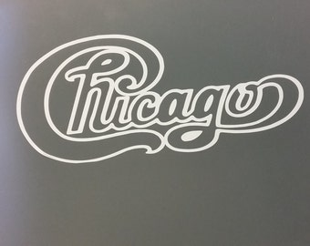 CHICAGO ROCK BAND T-shirt 100 % Cotton and 1 stisker Free