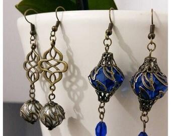 Sale~Vintage Inspired Dangly Earrings