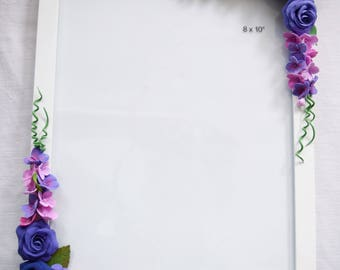 Flowers photo frame Perfect for any special occasion