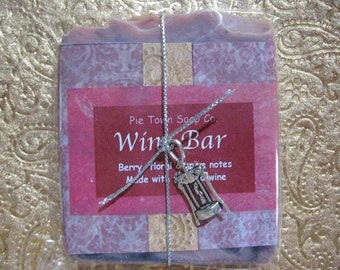 Wedding Soap   Party Favor Soap  Wine Soap with charm  Soap favors