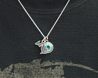 State Bullet Necklace