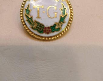 National Union of Townswomen's Guild pin badge