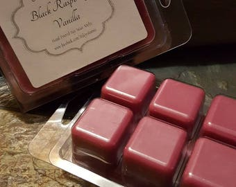 Black Raspberry Vanilla Soy Wax Melts - Scented Wax- Housewarming Gift - Black Raspberry Candle